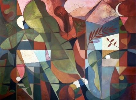 Mauricio Piza, Variações sobre uma Bananeira, Banana Tree Variations, 2014, 1,50 X 2,00 m